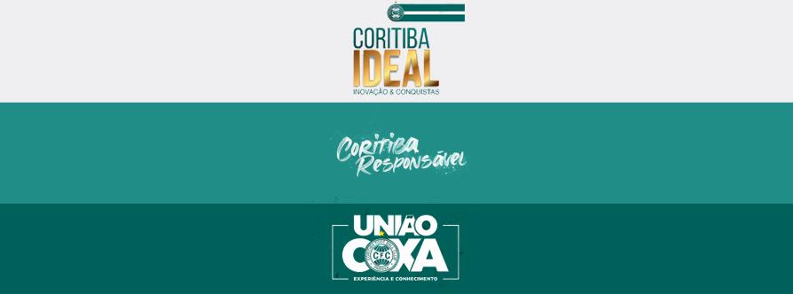 Chapas candidatas a eleição do Coritiba para o triênio 2021-2023.